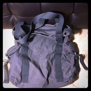 Dark blue/grey shoulder bag